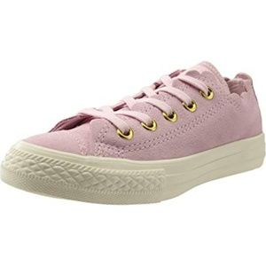 Converse Chuck Taylor All Star Girls' Pink Suede